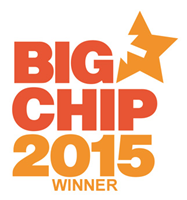Big Chip Award Logo Best Use Of Mobile