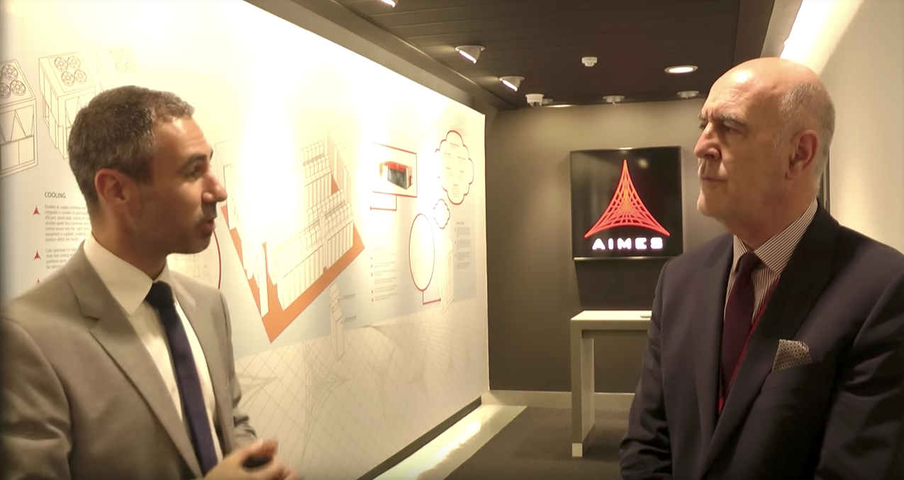 Glow visit the datacentre with AIMES CEO Dennis Kehoe